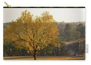 Autumn Tree At Sunset Carry-all Pouch