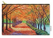 Autumn Tree Lane Carry-all Pouch