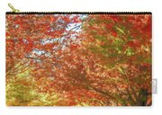 Autumn Trees Digital Watercolor Carry-all Pouch