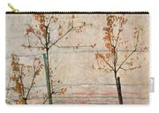 Autumn Trees Carry-all Pouch by Egon Schiele