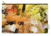Autumn Trees In The Fog Carry-all Pouch