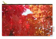 Autumn Trees Red Orange Fall Trees Art Baslee Troutman Carry-all Pouch