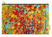 Autumn Trees Carry-all Pouch