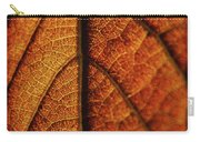 Autumn Veins Carry-all Pouch