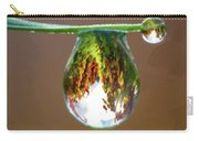Autumn Vineyard In A Drop Of Due Carry-all Pouch