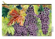 Autumn Vineyard In Its Glory - Batik Style Carry-all Pouch
