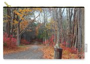 Autumn Walk At West Thompson Lake  Carry-all Pouch