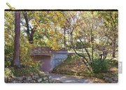 Autumn Walk In The Park Carry-all Pouch