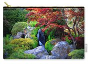 Autumn Waterfall Carry-all Pouch by Carol Groenen