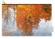 Autumn With Colorful Foliage And Water Reflection 19 Carry-all Pouch