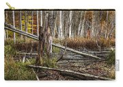 Autumn Woodland Marsh Scene Carry-all Pouch