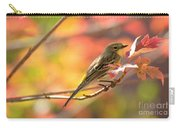 Autumn Yellow Rumped Warbler Carry-all Pouch