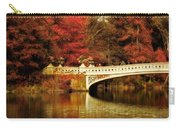 Autumnal Bow Bridge  Carry-all Pouch