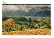 Autumnal Hills Carry-all Pouch by Silvia Ganora