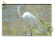 Autumn's Egret Carry-all Pouch