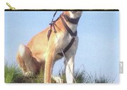 Ava-grace, Princess Of Arabia  #saluki Carry-all Pouch by John Edwards