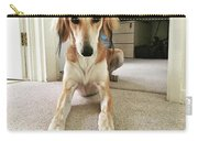 Ava On Her First Birthday #saluki Carry-all Pouch