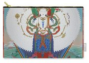 Avalokiteshvara Lord Of Compassion Carry-all Pouch by Sergey Noskov