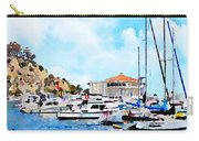 Avalon Casino Harbor, Catalina Carry-all Pouch