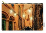 Avignon Alley At Sunset Carry-all Pouch