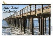 Avila Pier Avila Beach California Carry-all Pouch
