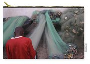 Awash In Nets Carry-all Pouch by Wayne King