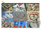 Awesome Hearts - Collage Carry-all Pouch