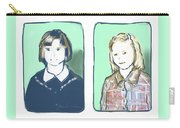 Awkwardness Of Youth Carry-all Pouch