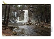 Awosting Falls In January #2 Carry-all Pouch