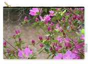 Azalea Branches And Spanish Moss Carry-all Pouch