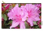 Azalea Garden Art Prints Pink Azaleas Flowers Baslee Troutman Carry-all Pouch