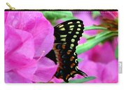 Azalea With Butterfly Carry-all Pouch