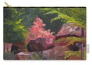Azaleas - Sun And Shadow Carry-all Pouch