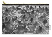 Azaleas Black And White Carry-all Pouch