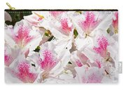 Azaleas Flowers Pink White Azalea Floral Baslee Troutman Carry-all Pouch