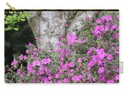 Azaleas With Tree Carry-all Pouch