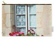 Azay Le Rideau Bridge, Window, Lace Carry-all Pouch