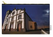 Azorean Church At Night Carry-all Pouch