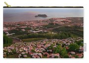 Azorean Town At Sunset Carry-all Pouch