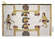 Aztec Ball Game Carry-all Pouch