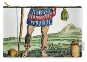 Aztec: Chocolate, 1685 Carry-all Pouch