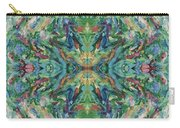 Aztec Kaleidoscope - Pattern 018 - Earth Carry-all Pouch