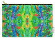 Aztec Kaleidoscope - Pattern 025 Carry-all Pouch