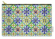 Azulejos Magic Pattern - 11 Carry-all Pouch