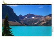 Azure Blue Mountain Lake Carry-all Pouch