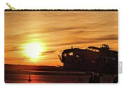 B 17 At Sunset Carry-all Pouch
