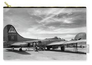 B-17  Black  Carry-all Pouch