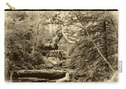 Babcock State Park Wv - Sepia Carry-all Pouch