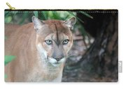 Babcock Wilderness Ranch - Oceola The Panther Gazing Carry-all Pouch
