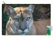 Babcock Wilderness Ranch - Oceola The Panther Pleasantly Peering Carry-all Pouch